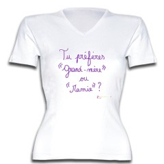 Femme T Rigolo 3eme Shirt Enceinte 5AqR4jL3