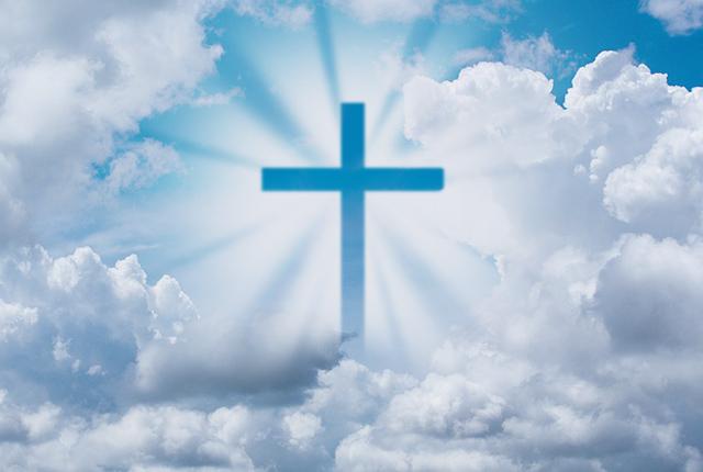 Croix du Christ résussité à Pâques