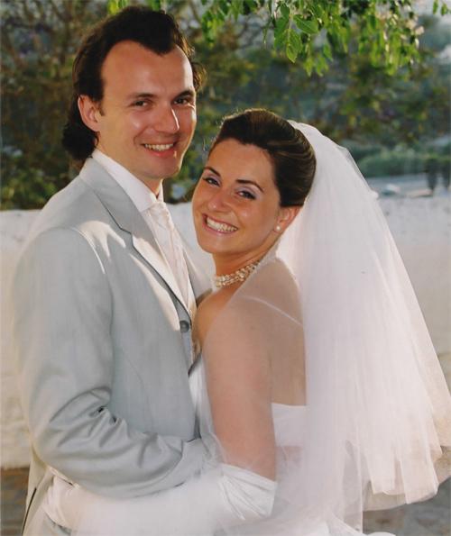 Portrait de mariage d'Olivia et Julien fondateurs de Myplanner, à Ibiza