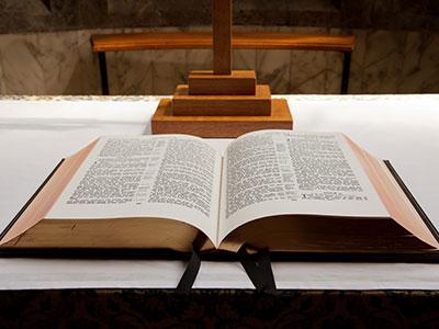 Le grand commandement - Evangile de la bible pour une messe de baptême