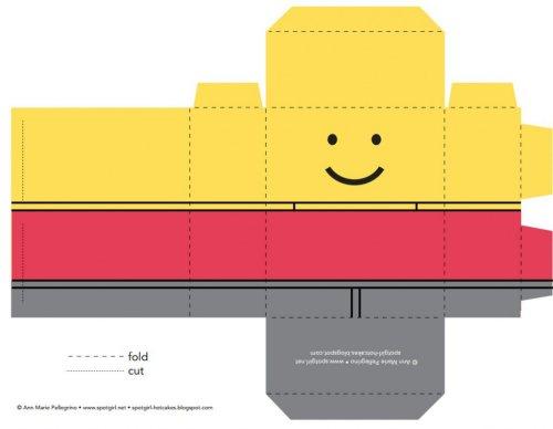 Créez gratuitement vos boîtes surprises invités pour un anniversaire LEGO