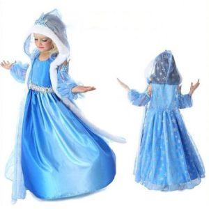 Robe et cape reine des neiges