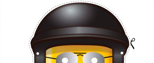 Masque de policier lego gratuit à imprimer pour anniversaire lego