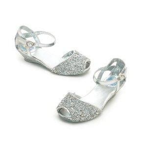 Sandales pailletées reine des neiges