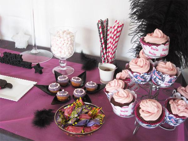 Goûter d'anniversaire Chica Vampiro