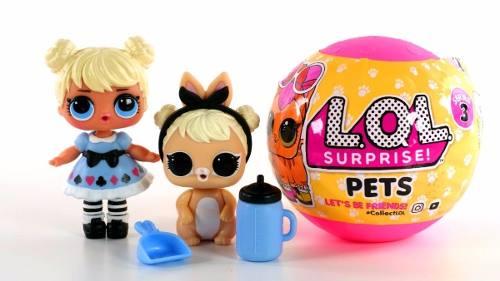 Contenu d'un LOL Surprise Pets: idée cadeau de noel fille