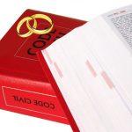 Que dit le code civil sur le mariage?