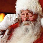 Animation de Noël: les bottes enneigées du Père Noël