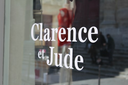 Clarence et Jude Pop Up Store
