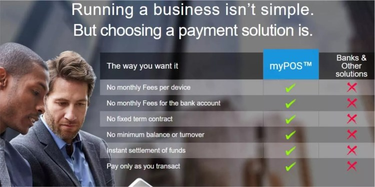 myPOS™ - Benefits for Merchants