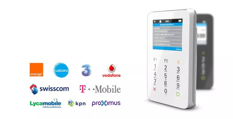 Mobile Top-up from myPOS - service providers