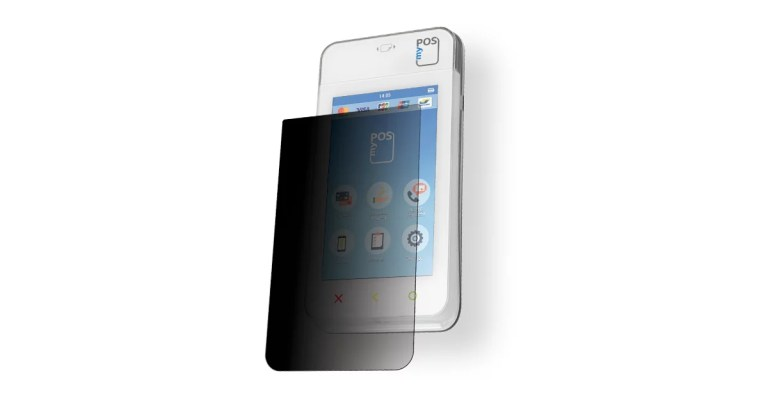 Privacy screen protector for myPOS Mini Ice