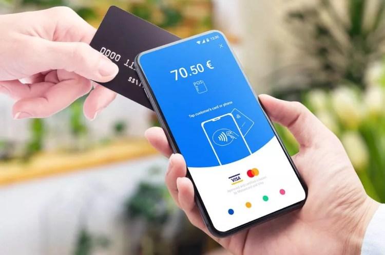 Verwenden eines Telefons als Kreditkartenleser
