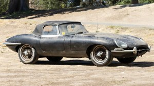 1965 Jaguar E-Type with just 8,000 miles is headed to auction