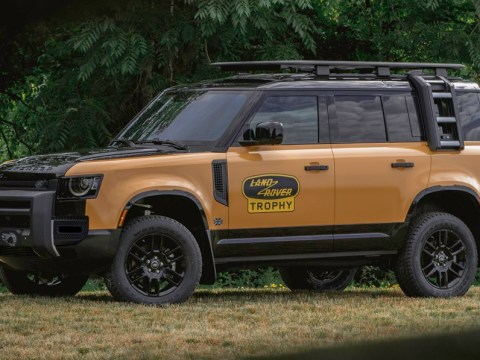 2022 Land Rover Defender Trophy Edition is a throwback for North America