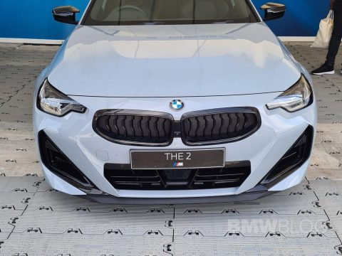 2022 BMW M240i in Brooklyn Grey live from Goodwood