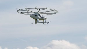 Air taxi startup Volocopter gains key E.U. certification