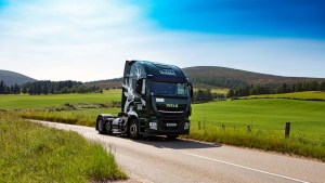 Glenfiddich uses whisky waste to fuel its delivery trucks