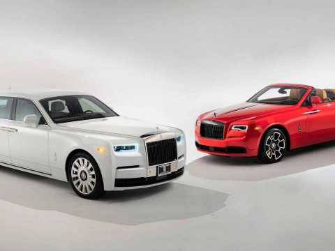 Rolls-Royce Tempus Collection debuts in US for couple's 40th anniversary