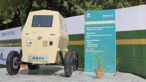 Tata built a Micro Bullet-Proof Vehicle back in 2012