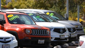 Used-car prices slip from dizzy heights