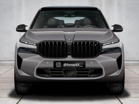 The 2023 G09 BMW XM scooped up once again on the Ring
