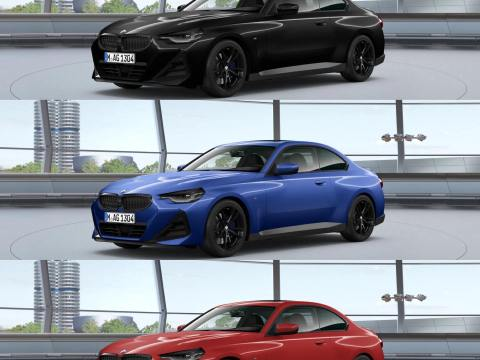 2022 BMW 2 Series Coupe (G42): Online configurator now available