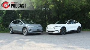 Ford Mustang Mach-E vs. Volkswagen ID.4 | Autoblog Podcast #692