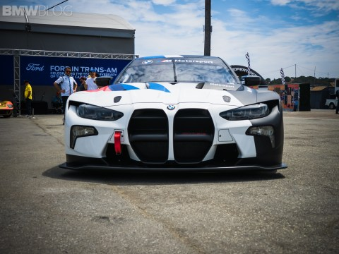 Exclusive first look at the BMW M4 GT3 Racing Car