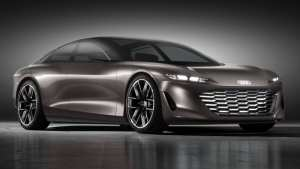 Audi's GrandSphere concept was designed as a road-going private jet