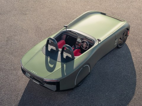 Aura electric concept envisions the driver's sports car of the future