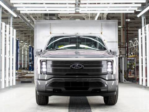 Ford F-150 Lightning begins pre-production as Ford boosts EV investment