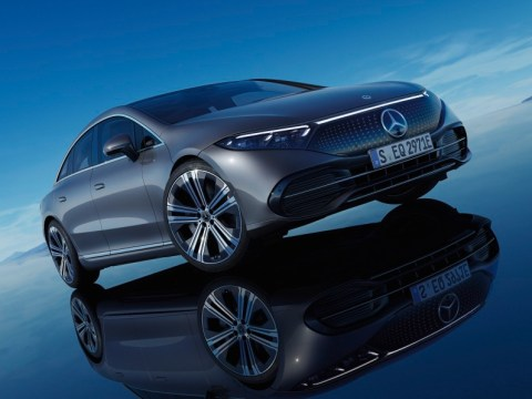 Mercedes EQS EV starts out costing less than its S-Class brother