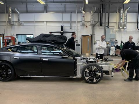 Polestar Precept prototype officially shown for the first time
