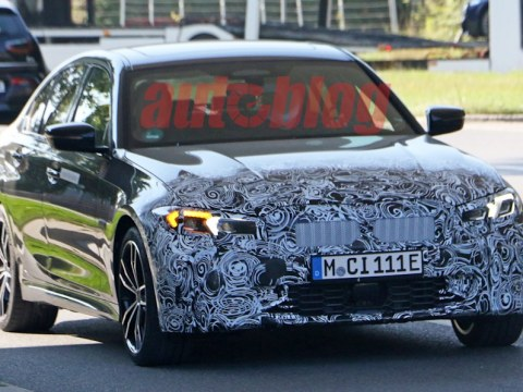 Spy photos emerge of potential BMW 3 Series mid-cycle update