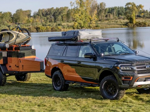Ford Expedition Timberline Off-Grid concept goes full overlander