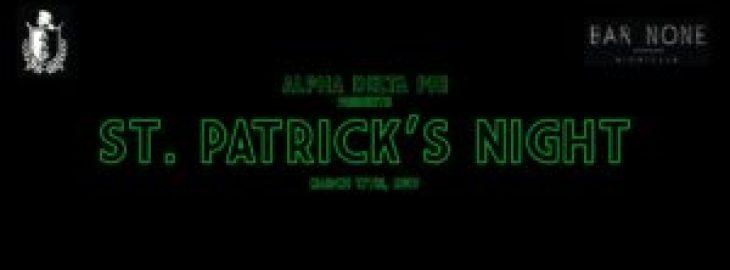 st patricks night