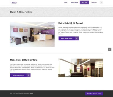 Booking Page