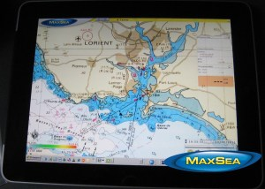 How to use MaxSea TimeZero on your iPad