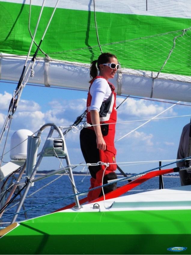 Sam Davies - Savéol Boat - Sponsored by MaxSea & Furuno