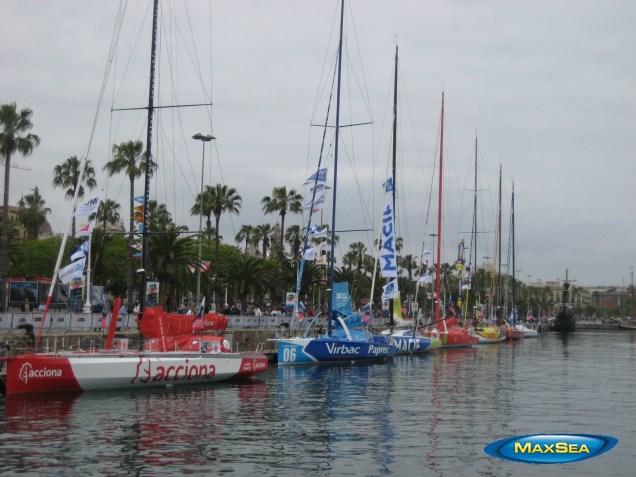 Europa Warm'Up 2012 - Barcelona Port