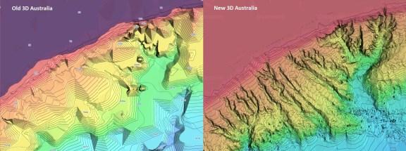 Australia 3D Jeppesen vector chart update