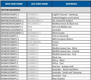 Navionics Vector Charts Update - September 2012