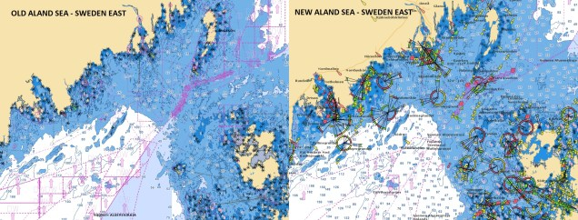 Old/New Aland Sea - Sweden East - Navionics vector chart