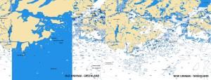 Old/New Umanai - Greenland - Navionics vector chart