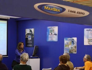 MaxSea Product Demo at the Nautic