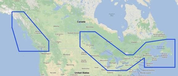 MWRMNA80MAP1.1 Canada Raster Chart