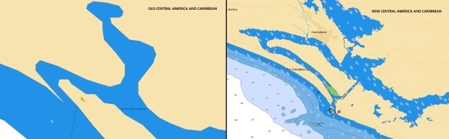 OLD-NEW Central America and Caribbean