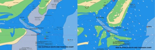 Navionics nautical chart