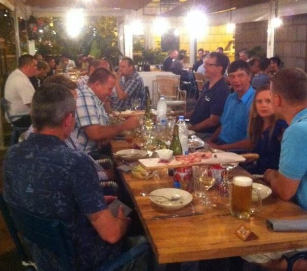 MaxSea-WASSP Seminar Dinner